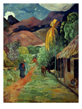 Gauguin: Tahiti, 19Th C Premium Giclee Print by Paul Gauguin