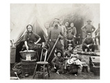 Civil War: Camp Life, 1861 Giclee Print
