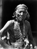 Navajo Man, C1913 Photographic Print by Roland Reed