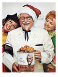 Kentucky Fried Chicken Ad Art