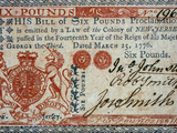 Colonial Currency, 1776 Photographic Print