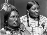 Sioux Couple, C1900 Photographic Print by Gertrude Kasebier