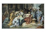 Julius Caesar (100-44 B.C.) Giclee Print