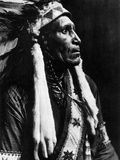 Curtis: Raven Blanket, 1910 Photographic Print by Edward S. Curtis