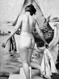 Bathing Nude, 1902 Photographic Print by Fritz W. Guerin