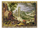 Roman Forum, 16Th Century Giclee Print