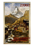 Swiss Travel Poster, 1898 Giclee Print