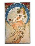 Mucha: Poster, 1898 Art by Alphonse Mucha