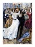 Society Ball, C1900 Giclee Print by Hal Hurst