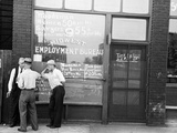 Employment Bureau, 1937 Photographic Print by Russell Lee