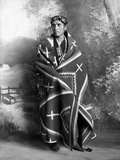 Navajo Man, C1906 Photographic Print