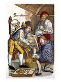 Amputation, 1540 Giclee Print by Hans von Gersdorff