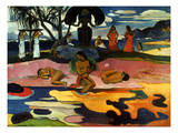 Gauguin: Day Of God, 1894 Print by Paul Gauguin