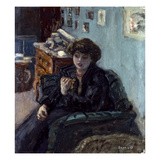 Bonnard: Lady, 19Th C Art by Pierre Bonnard