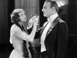 Silent Film Still: Drinking Photographic Print
