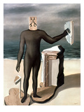 Magritte: Man From The Sea Giclee Print by Rene Magritte