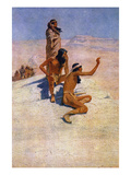 Cabeza De Vaca (1490-1557) Giclee Print by Frederic Remington