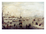 Avercamp: Winter Giclee Print by Hendrick Avercamp