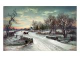 Christmas Morn, C1885 ジクレープリント : W. C. バウアー