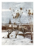 Savrasov: Ravens, 1871 Giclee Print by Aleksei Kondratevich Savrasov