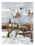 Savrasov: Ravens, 1871 Giclee Print by Aleksei Kondratevich Savrasov