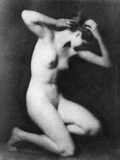 Nude Posing, C1910 Photographic Print by Arnold Genthe