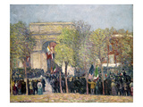 Washington Square, 1918 Giclee Print by William James Glackens