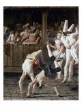 Tiepolo: Acrobats, 18Th C Prints by Giovanni Battista Tiepolo