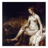 Rembrandt: Bathsheba, 1654 Giclee Print by  Rembrandt van Rijn