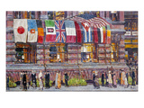 Hassam: Allied Flags, 1917 Giclee Print by Childe Hassam