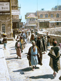 Jerusalem Street Scene Photographic Print