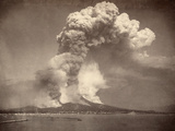 Pompeii: Mount Vesuvius Photographic Print