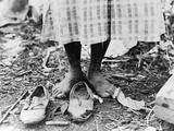 Cotton Picker, 1937 Fotografisk tryk af Dorothea Lange