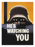 WWII: Propaganda Poster Posters by Glenn Grohe
