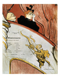 Toulouse-Lautrec, 1893 Giclee Print by Henri Toulouse-Lautrec