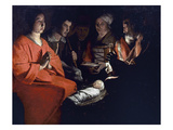 Adoration Of Shepherds Art by Georges de La Tour