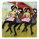 Kirchner: Panama Girls Giclee Print by Ernst Ludwig Kirchner