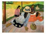 Gauguin: Siesta, 1891 Print by Paul Gauguin