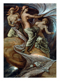 Fates Gathering In Stars Posters by Elihu Vedder
