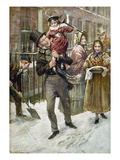 Dickens: A Christmas Carol Prints by Harold Copping
