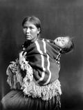 Navajo Woman & Child, C1914 Photographic Print