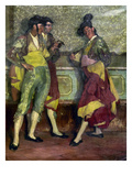Zuloaga: Bullfighters Giclee Print by Ignacio Zuloaga