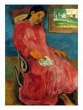 Gauguin: Reverie, 1891 Giclee Print by Paul Gauguin