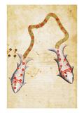 Zodiac: Pisces, C1350 Prints