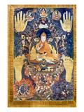 Thangka: Dalai Lama Giclee Print