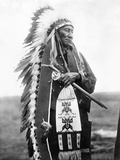 Sioux Chief, C1905 Photographic Print by Edward S. Curtis