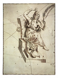 Constellation: Cassiopeia Giclee Print by Johann Bayer