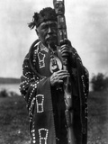 Kwakiutl Chief, C1914 Photographic Print by Edward S. Curtis