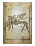 Book Of Durrow, C680 A.D Print