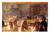 Bonnard: Place Clichy Giclee Print by Pierre Bonnard